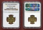Bundesrepublik Deutschland 1 Goldmark Karlsruhe 1 DM Gold Good Bye German Mark issue, Legal Tender, Zahlungsmittel