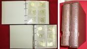Bundesrepublik Deutschland Satz 105 x 10 DM in Alben BRD 105 x 10 DM PP mit Album vereinzelt minimal beschlagen in Originalfolie