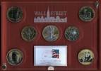 7 x 1 Unze Silber 2012 USA, Kanada, China,...