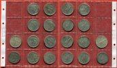 USA, United States of Amerika, Vereinigte Staaten 10 x 1 Dollar Silber Lot von 10 x 1 $ Peace Typ - inkl. 1928 S (günstigere Variante)