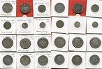 Kaiserreich Österreich Lot von 12 Silbermünzen Lot Österreich, 2 x 20 Kreuzer, 8 x 1 Florin & 2 x 10 Kreuzer