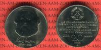 DDR 20 Mark Gedenkmünze 100. Todestag Karl Marx