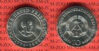 DDR 10 Mark Silbergedenkmünze Gedenkmünze 200. Geburtstag Caspar David Friedrich