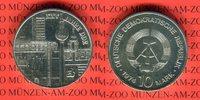 DDR 10 Mark Silbergedenkmünze Gedenkmünze 25-jähriges Bestehen der DDR