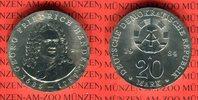 DDR 20 Mark Silbergedenkmünze Gedenkmünze 225. Todestag Georg Friedrich Händel