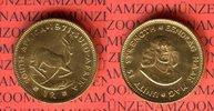 Südafrika, South Africa 1 Rand Goldmünze Springbock Gold Kursmünze
