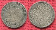 Sachsen Albertinische Linie 3 Brüder Taler Christian II. und seine Brüder