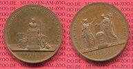 Schlesien Breslau Bronze Medaille 50 J. Stiftungsfest des Institutes f privilegierte Hanelsdiener