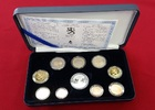 Finnland Kursmünzensatz mit Silbertoken KMS 3,88 Euro + Silbermedaille