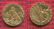 5 Dollars Dollar Half eagle 1909 USA India...