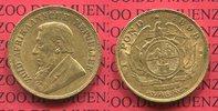 1 Pond Pfund 1898 Süd Afrika Gold Ohm Krüg...