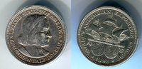 1/2 Dollar Commemorative Coin 1892 USA Worlds Columbian Exposition, Seg... 19,00 EUR  zzgl. 4,20 EUR Versand