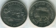Half Dollar 1991 USA Jahrestag des nationalen Denkmals Stempelglanz  8,00 EUR  Excl. 8,50 EUR Verzending