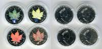 4 x 5 Dollar Silbermünzen mit Privy Mark 2003 Kanada Maple Leaf Frieden... 167.45 US$ 149,00 EUR  +  9.55 US$ shipping