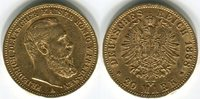 20 Mark, Goldmünze 1888 Deutsches Reich Friedrich III. (Preussen) 1888A... 348.38 US$ 310,00 EUR  +  9.55 US$ shipping