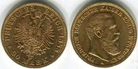 20 Mark, Goldmünze 1888A Deutsches Reich Friedrich III. (Preussen) 1888... 299,00 EUR  Excl. 8,50 EUR Verzending