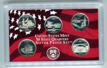 Set 1,25 Dollar (5x0,25 Dollar) 2005 USA 50 State Quaters Set 2005 PP i... 21.35 US$ 19,00 EUR  +  9.55 US$ shipping