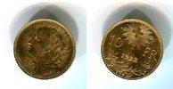 Schweiz 10 Franken Goldmünze Vreneli Typ