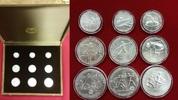 3 x 100, 250, 500 Drachmen Silber 1981/1982 Griechenland Satz Leichtath... 9454 руб 149,00 EUR  zzgl. 266 руб Versand