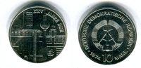 DDR 10 Mark Silbergedenkmünze Gedenkmünze 25 Jahre DDR