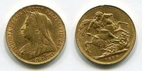 Sovereign 1899 P England  Great Britain UK Australien Victoria   Perth ... 833,42 SGD 550,00 EUR kostenloser Versand