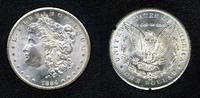 United States of America 1 Dollar Silbermünze 1884