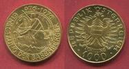 Österreich, Austria 1000 Schilling Gold Babenberge