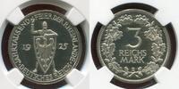 Weimarer Republik Deutsches Reich 3 Mark 3M 1925 E