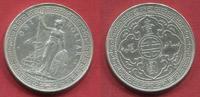 England Großbritannien UK Hong Kong Trade Dollar 1