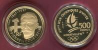 Frankreich France 500 Francs Gold 1991 Polierte Pl