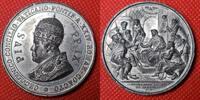 Italien Vatikan Papal States Medaille Zinn 1870 Pa