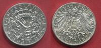 Kaiserreich Deutschland Bremen 2 Mark 1904 Freie und Hansestadt Bremen Stadtwappen f. stgl.