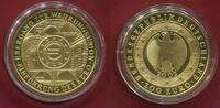 Deutschland BRD Germany 200 Euro Gold 2002 J Währungsunion - Euro Einführung - J - Hamburg Stgl. mit