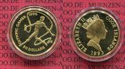 Cook Islands, Cook Inseln 50 Dollars Goldmünze Cook Inseln 50 Dollars Olympiade Gymnastik PP 585 Gold 7,77 g 25 mm Aufl. 5000