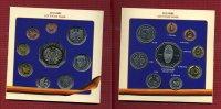 Bundesrepublik Deutschland Privater Kursatz mit Cu/Ni Med 1 PF 5 DM Privater Kursatz mit Cu/Ni Med 1 PF bis 5 DM 1998 50 Jahre DM im Blister