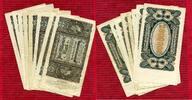 Inflation Dt. Reich 1919 - 1924 2 Millionen Mark Lot 8 Stück Dt. Reich Inflation 2 Millionen Mark 23.7.1923