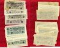 Inflation Dt. Reich 1919 - 1924 Lot  4 x 5, 8 x 1 Milliarde Mark Inflation Dt. Reich Lot 4 x 5, 8 x 1 Milliarden Mark