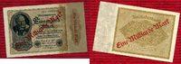 Inflation Dt. Reich 1919 - 1924 Lot  5 x  1 Milliarde Überdruck Inflation Dt. Reich Lot 5 x  1 Milliarde Überdruck 14.12.1922/ Sept. 1923