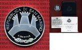 San Marino 10 Euro Silbermünze San Marino 10 Euro PP, 2006, Canova, Silber OVP Box Zert Schuber