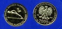Polen 2000 Zloty Gold Polen 2000 Zloty 1980 Gold Olympische Spiele Winter Lake Placid PP