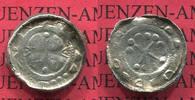 Brandenburg Anonym Wendisch Pfennig Silber Brandenburg anonyme Wendische Prägung 11.jhdt. Silber