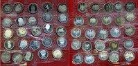 Bundesrepublik Deutschland 25 x 5 DM Gedenkmünzen  Silber /Cu/Ni Lot 25 x 5 DM Gedenkmünzen ab Mercator, siehe Bild, Spiegelglanz *