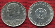Weimarer Republik Deutsches Reich 5 Mark Silber Weimarer Republik 5 Mark 200. Geburtstag von Lessing 1929 A  Silber, J. 336