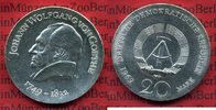 20 Mark Silbermünze DDR 1969 DDR GDR Eastern Germany DDR 20 Mark 1969 J... 52,00 EUR  +  8,50 EUR shipping