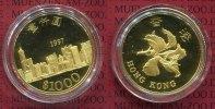 1000 Dollars 1997 Hong Kong Hong Kong 1000 Dollars 1997, Gold PP Rückga... 645,16 EUR  +  8,50 EUR shipping