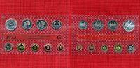 Deutschland Kursmünzensatz mit 5 DM Silberadler BRD 1973 G KMS 1 Pfennig bis 5 DM Silberadler in orig. Noppenfolie