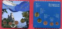 San Marino Kursmünzensatz Mini 1-50 Ct. 5 Münzen San Marino Kursmünzensatz 2006-7,1, 2, 5, 50 Cent 2006 20 Ct 2007