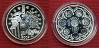 Frankreich France 1 1/2 Euro Silbermünze, 1,5 Euro Frankreich 1,5 Euro 2002, Europa Serie Europa  OVP