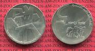 Israel 5 Pfund Silbermünze Commemorative Coin Israel 5 Pfund Silber 1966 18. Jahrestag Unabhängigkeit 18 Years Independence