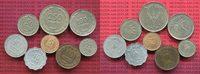 Israel Kursmünzenzusammenstellung 8 Münzen Israel Kursmünzen 5 bis 250 Pruta alles verschiedene Typen